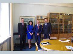 Триває перебування делегації НУЦЗУ у Латвії