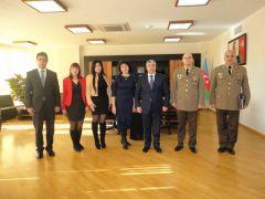 Науковці НУЦЗ України відвідали Академію  Міністерства МНС Республіки Азербайджан