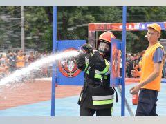 Уперше команда університету взяла участь у «Всеукраїнських змаганнях – Найсильніший пожежний-рятувальник України. Кубок Львова 2019
