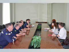 Експерти ОБСЕ у рамках проекту «Посилення спроможності України щодо реагування на надзвичайні ситуації, пов'язані з небезпечними хімічними речовинами» відвідали НУЦЗУ